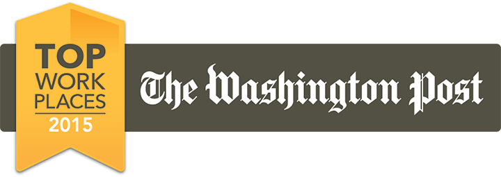 Top Work Places 2015 Washington Post badge