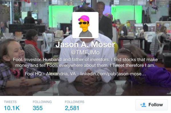 JMo on Twitter