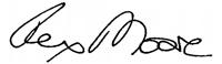 Rex Moore Signature