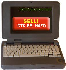 Sell OTC BB: HAFD