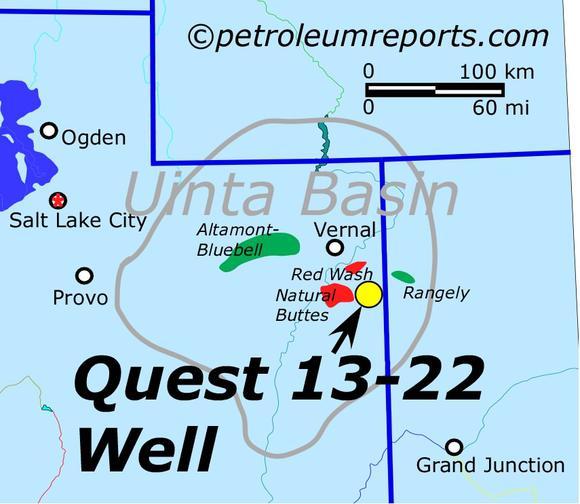 Map Of Uinta Basin