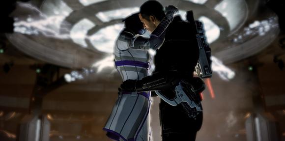 Shepard Liara Kiss