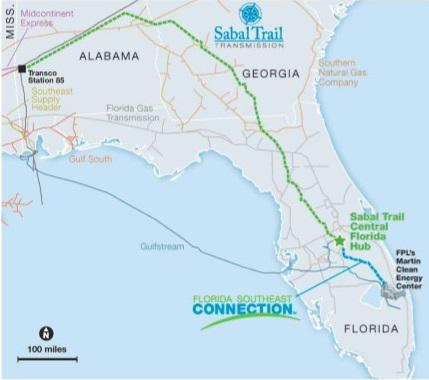 Nextera Energy Inc Sabal Trail