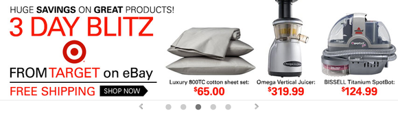 Target On Ebay Ad