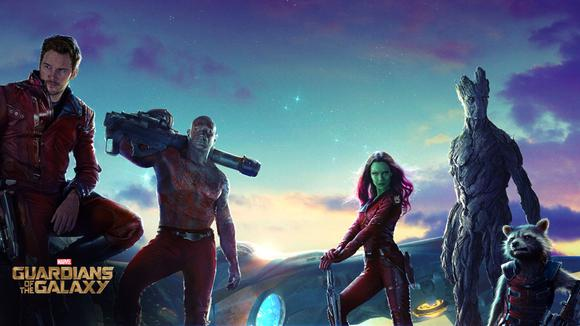 Guardians Of The Galaxy Poster Wide