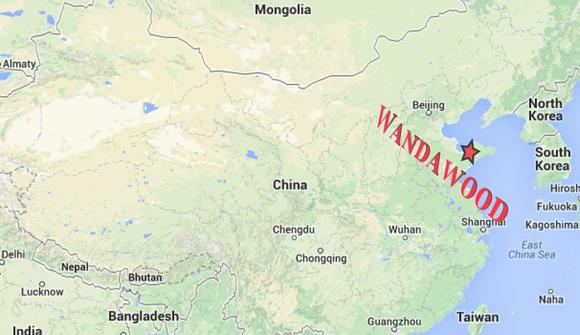 Qingdao Wandawood Map