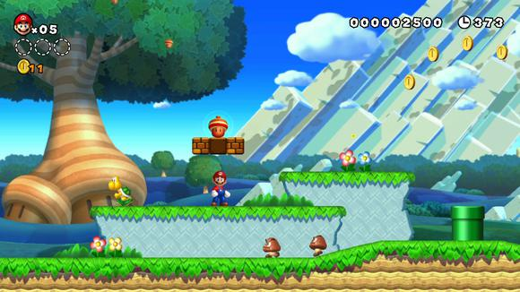 New Super Mario Bros U Screen