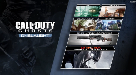 Call Of Duty Ghosts Onslaught Dlc Maverick Weapon Gets More Details