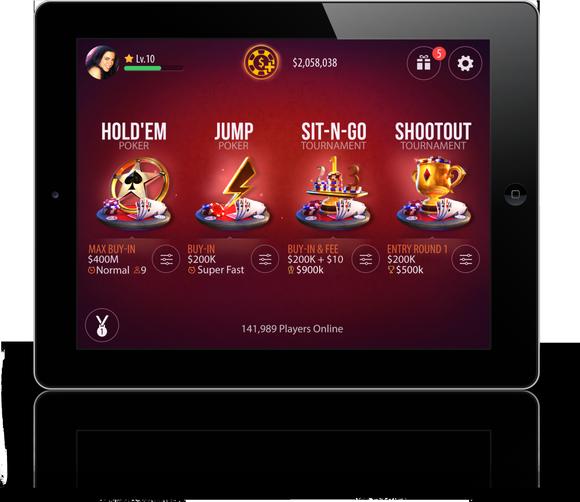 New Zynga Poker