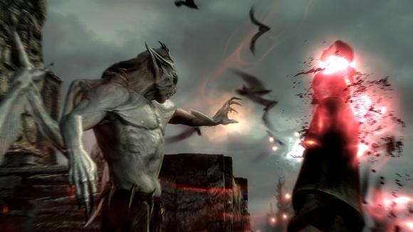Dawnguard Vampire Incinerate