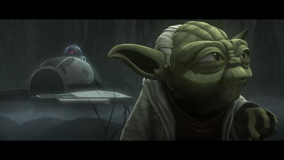 Yoda Dagobah Clone Wars