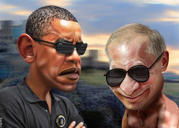 Obama V Putin