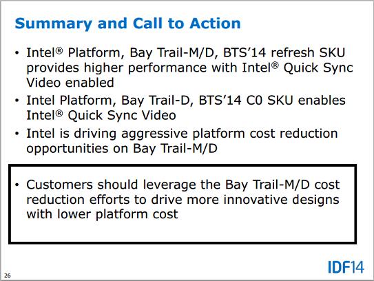 Bay Trail M Platform Bom