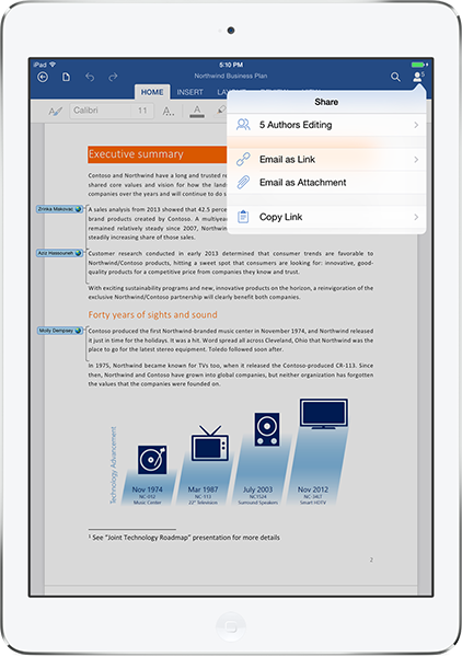 Word Office Ipad