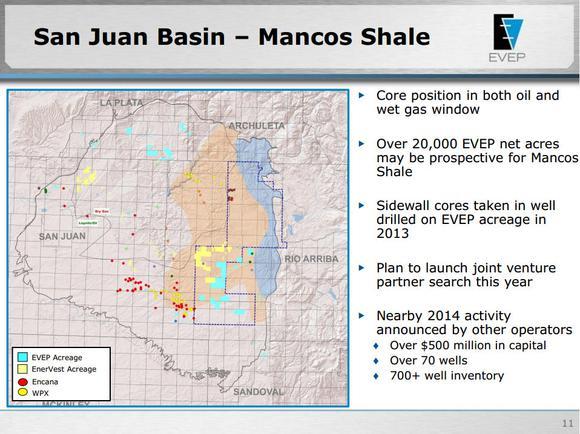 Ev Energy Partners San Juan