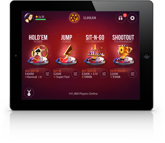 Zynga Poker Mobile