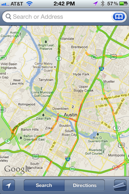 Maps Traffic Goog