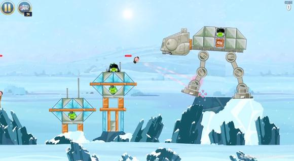 Angry Birds Star Wars Gameplay
