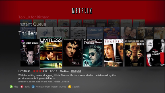 New Netflix Xbox