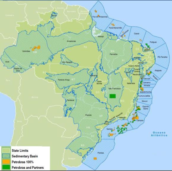Petrobras Pre Salt Fields
