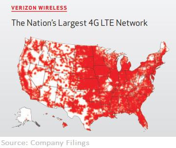 Verizon Map