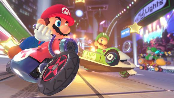 Mario Kart Mario Luigi Track