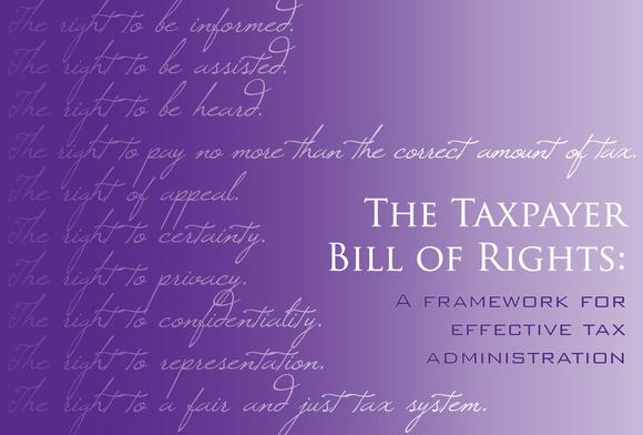 Web Taxpayer Bill Of Rights