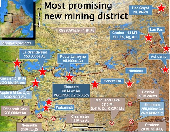 Virginia Mines