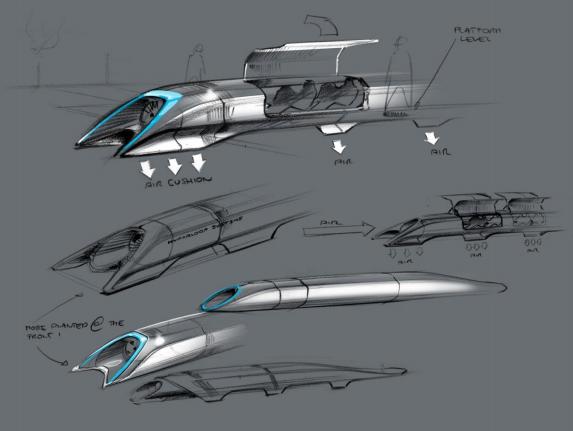 Hyperloop Design Sketch