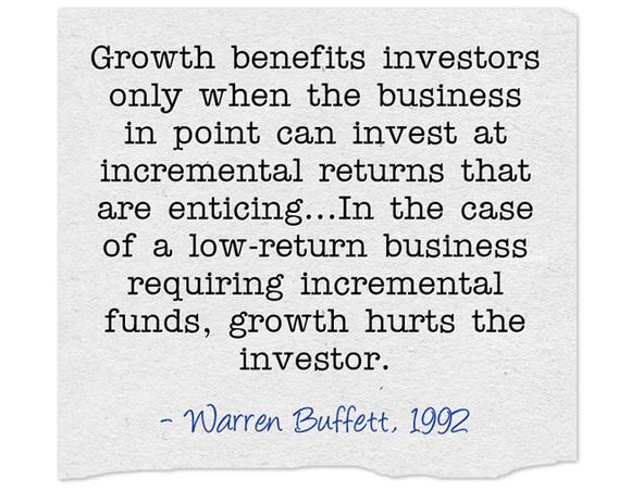 Buffett On Growth