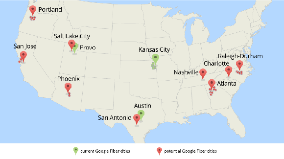 Goog Fiber Expansion Plan