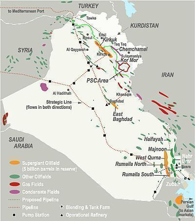 Iraqs West Qurna I Field