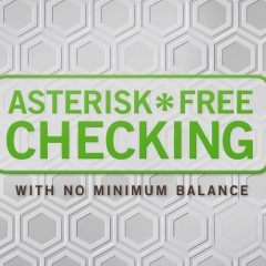 Asterisk Free Checking