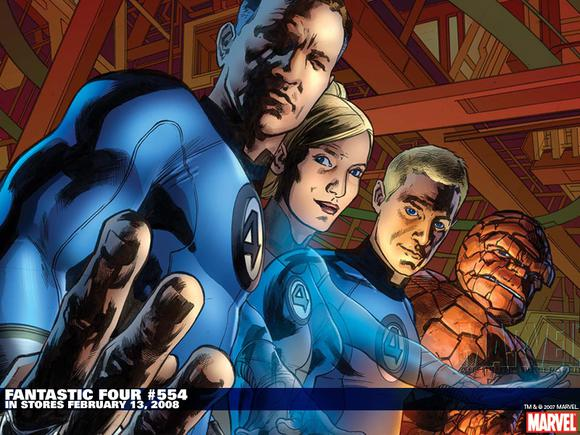Fantastic Four Comic Fox Marvel