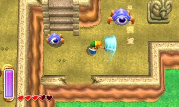 The Legend Of Zelda A Link Between Worlds Screenshot