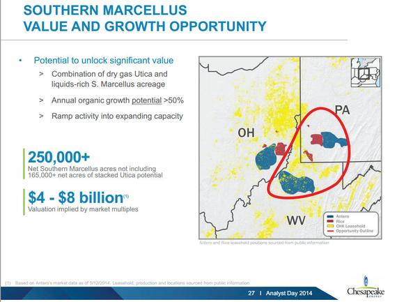 Chk Marcellus South