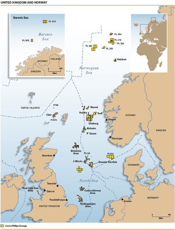 Map Uknorway Lg