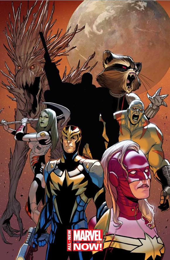 Guardians Of The Galaxy Fcbd Cover