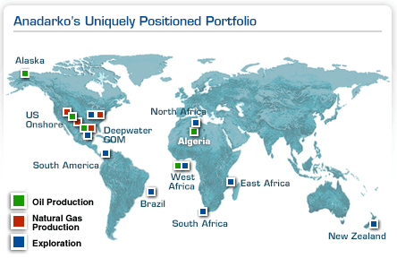 Anadarko Worldwide Assets
