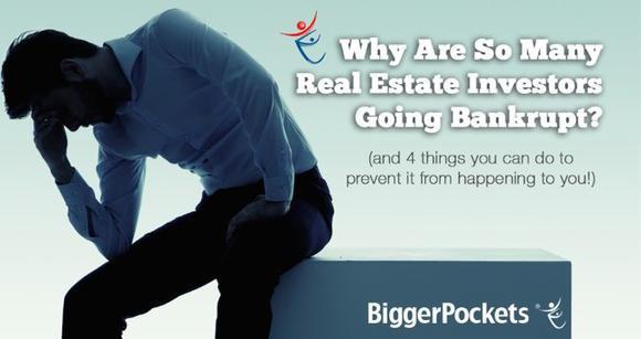 Real Estate Investors Bankrupt