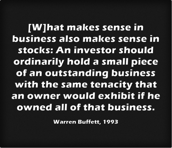 Buffett Owner Quote