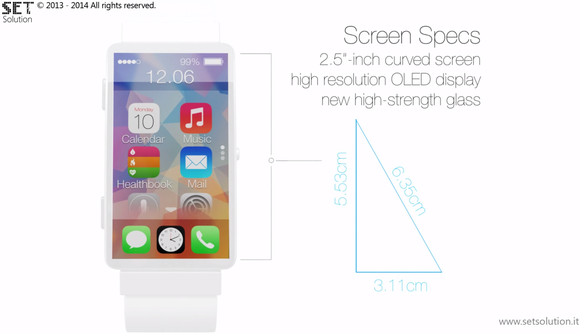 Revolutionary Iwatch Concept Dimensions