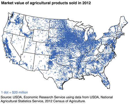Agriculture Production Locations