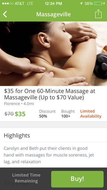 Massagevillemed