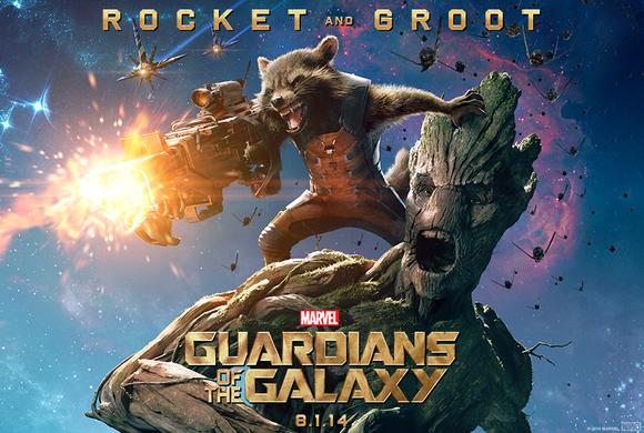 Guardians Of The Galaxy Rocket Groot