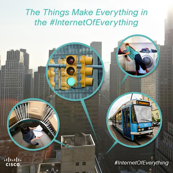 The Things That Make Everything In The Internetofeverything Blog Image