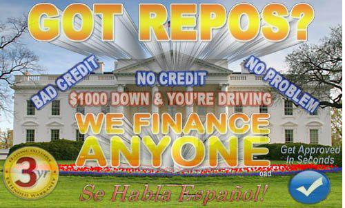 Subprime Car Ad