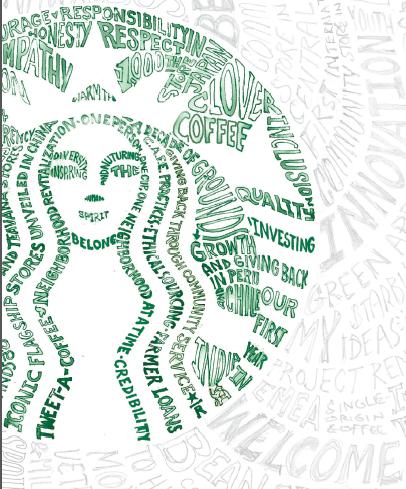 Starbucks Logo Via