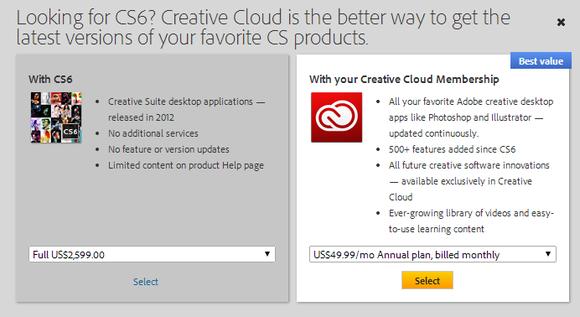 Adobe Sell