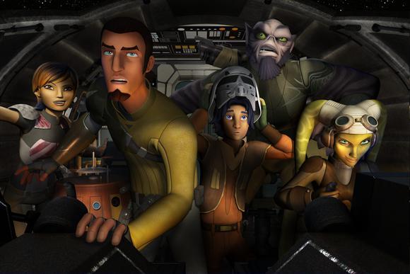 Disney Stock Star Wars Rebels